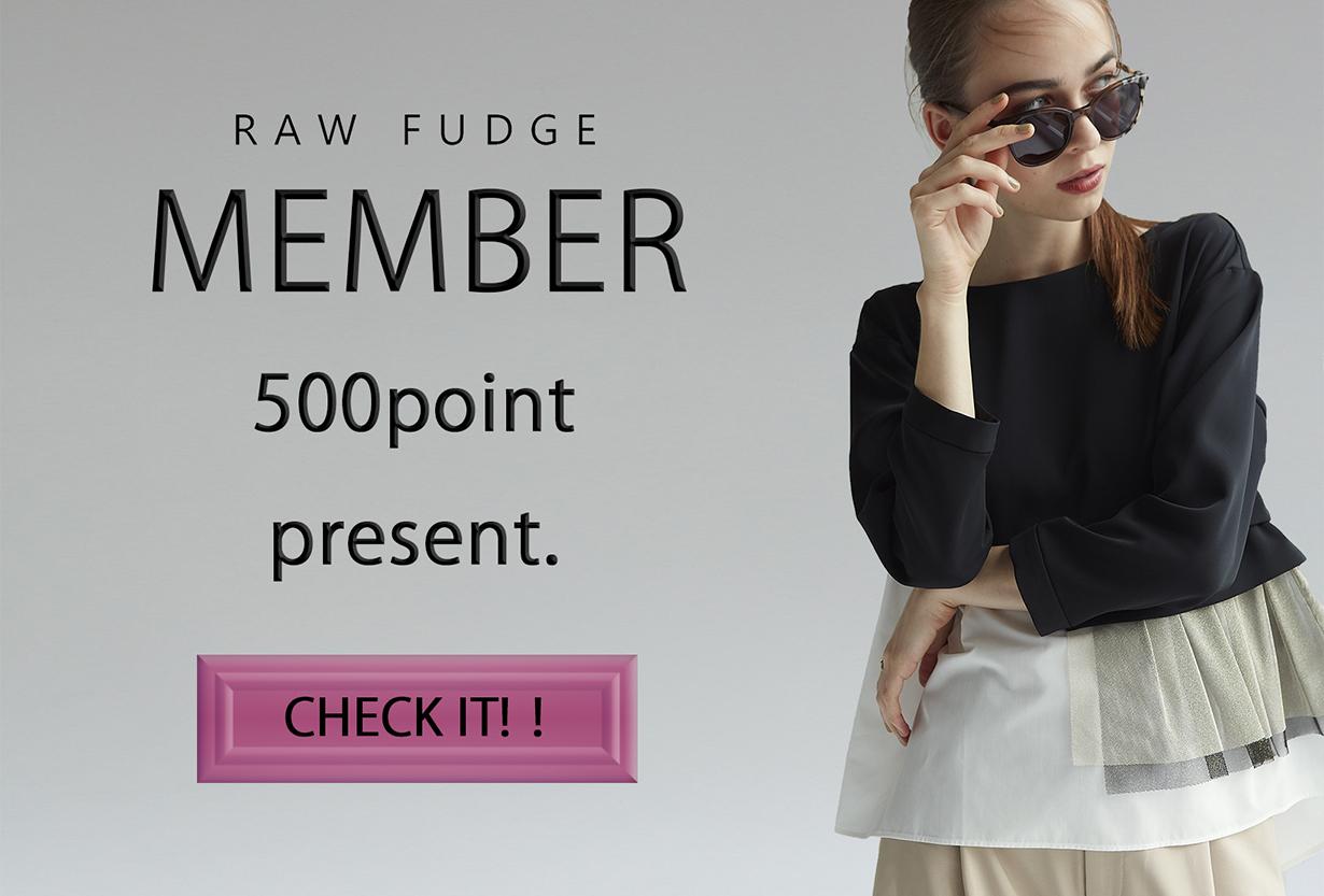 会員|RAWFUDGE「ローファッジ」オンライン