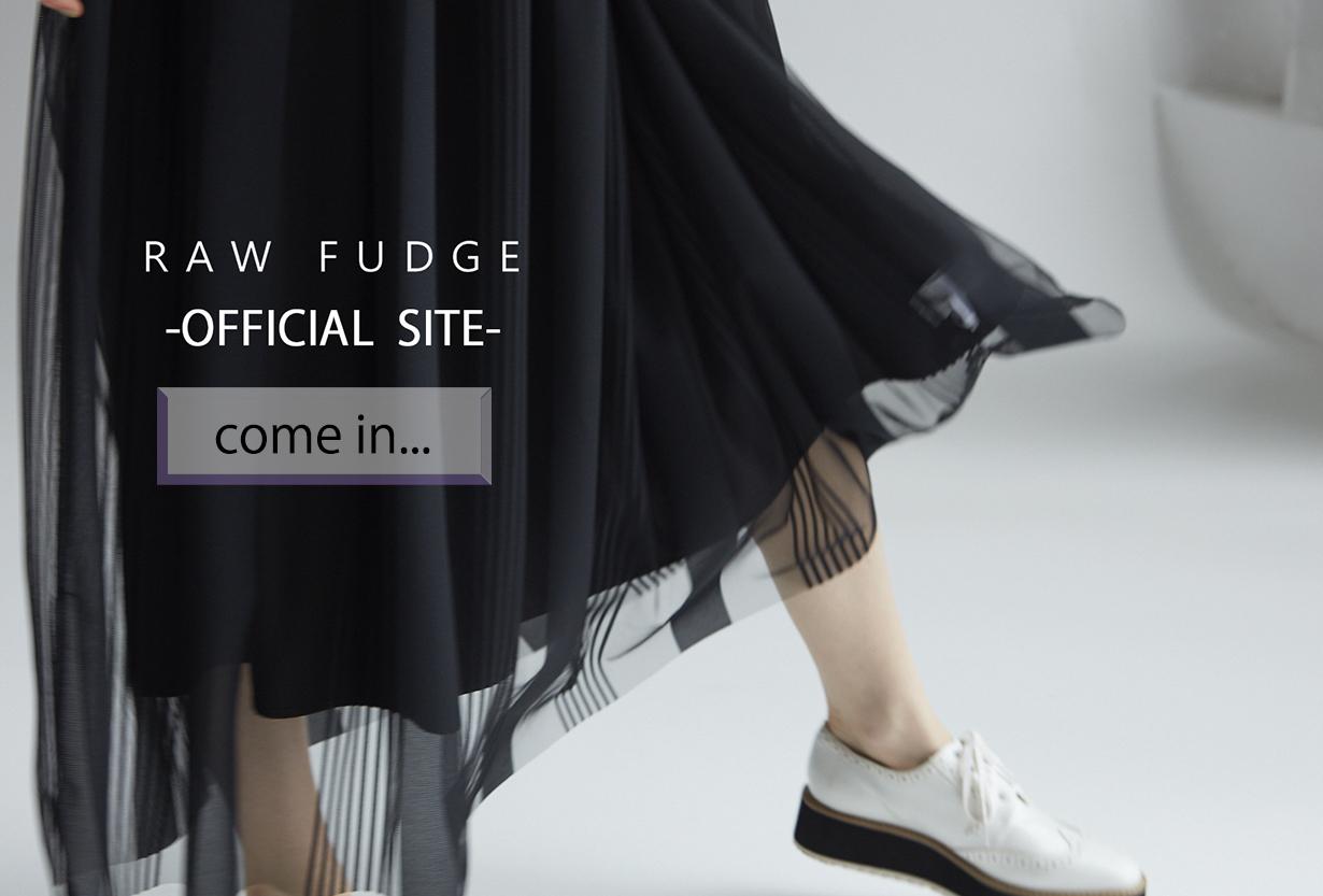 RAWFUDGE「ローファッジ」オフィシャルサイト